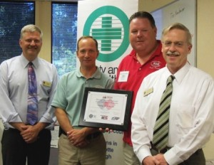RGC Safety Director Receives MESH Certification from Safety & Health Council (6/29/10)